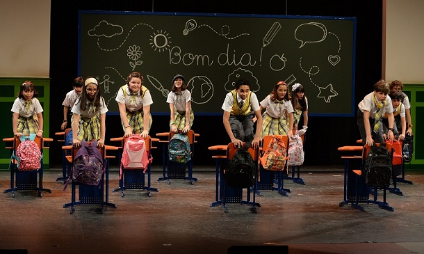 elenco de carrossel, o musical nos palcos