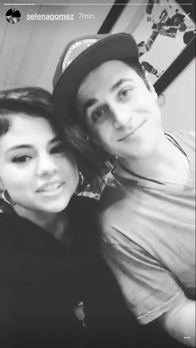 Selena Gomez e David Henrie se reencontram