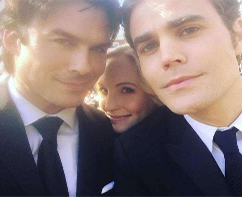 Gravações do último episódio de The Vampire Diaries