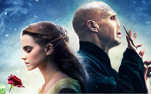 Paródia mistura cenas de A Bela e A Fera e Harry Potter