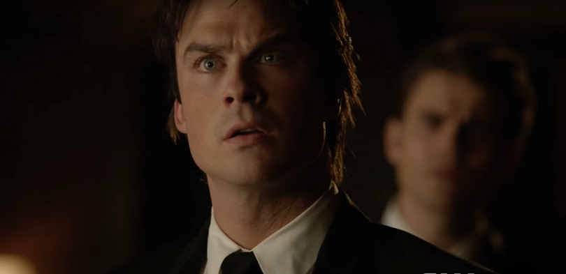 Damon vê Elena no último episódio de The Vampire Diaries