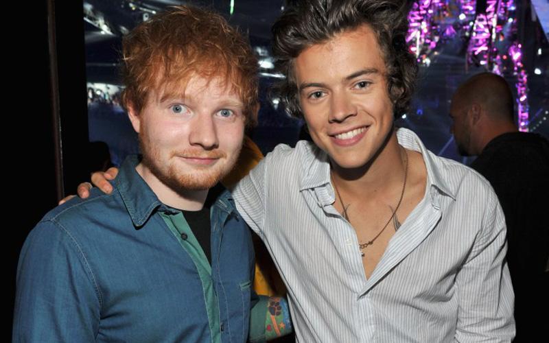 Harry Styles e Ed Sheeran