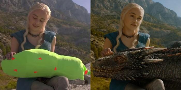 Efeitos especiais em Game of Thrones