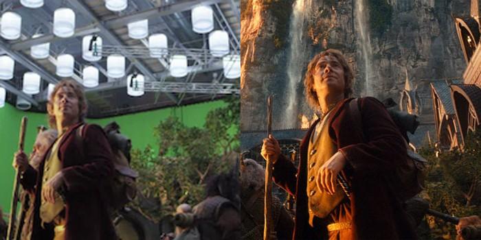 Efeitos especiais em O Hobbit