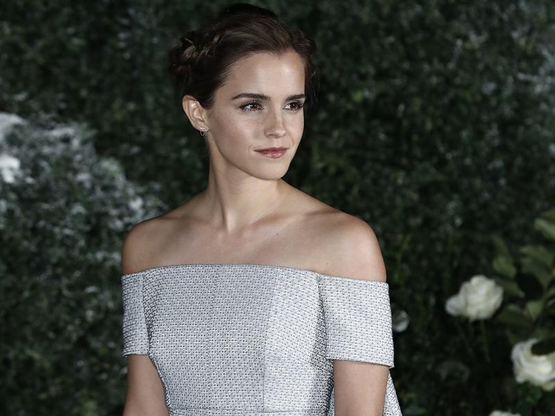 Emma Watson em première do filme A Bela e a Fera