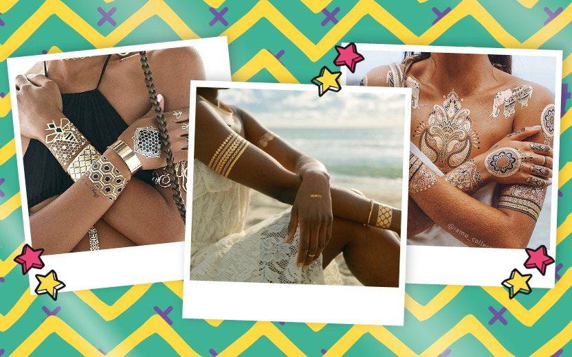 Flash Tattoos: tatuagens adesivas para arrasar no Carnaval