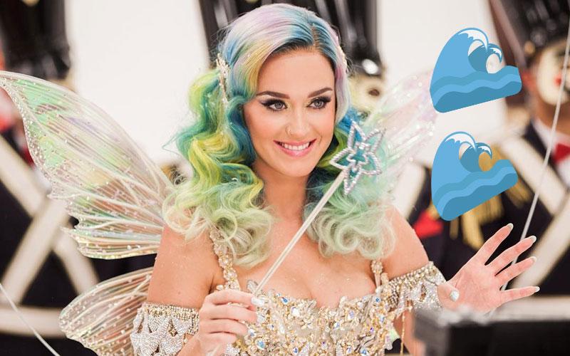 Katy Perry como uma fada