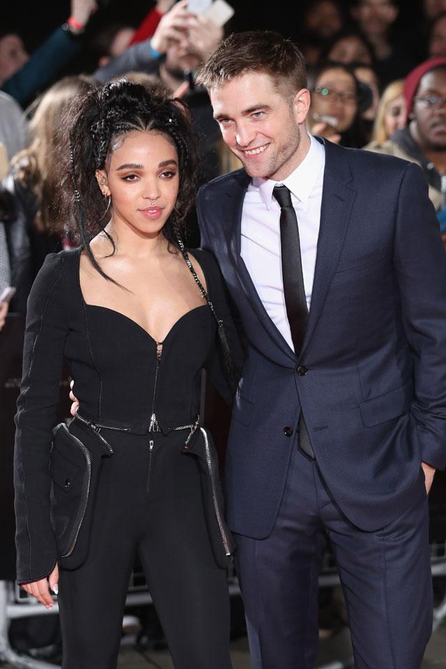 Robert Pattinson e sua noiva, FKA Twigs