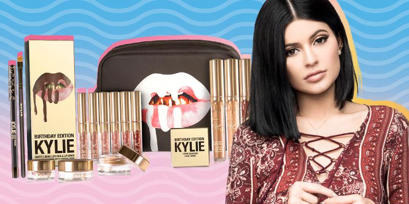 Linha de maquiagem da Kylie Jenner