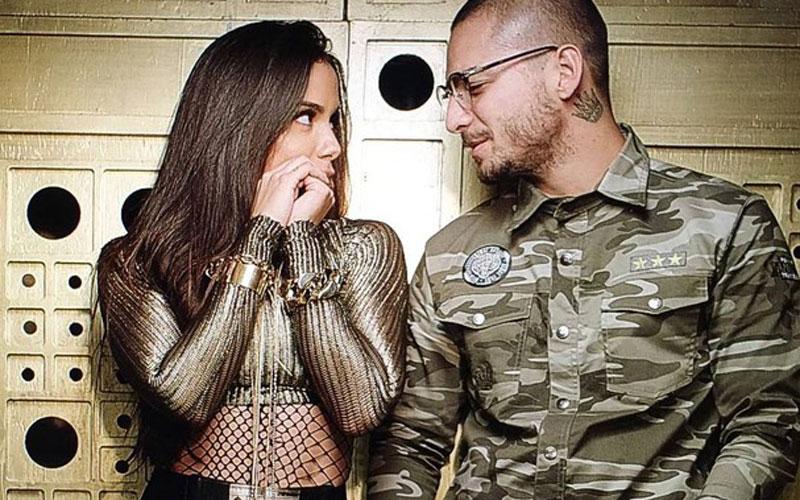 """Maluma e Anitta no clipe de """"Sim ou Não''"""