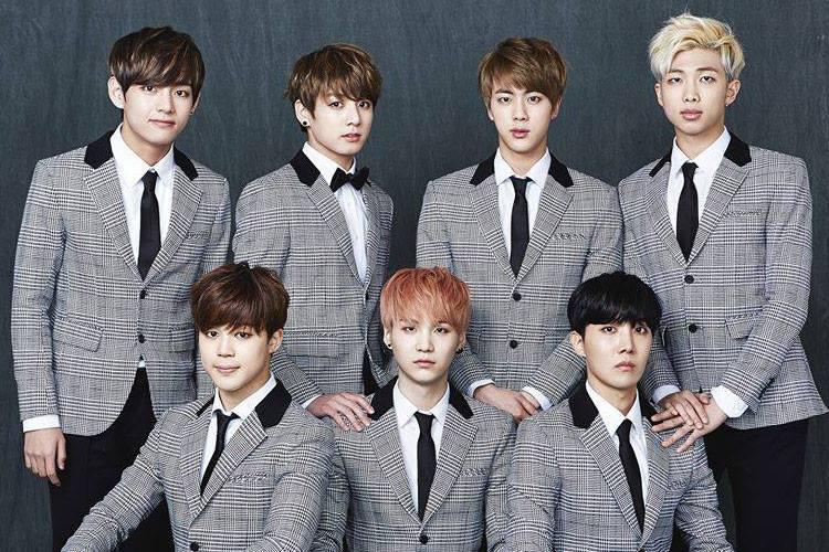Grupo k-pop BTS