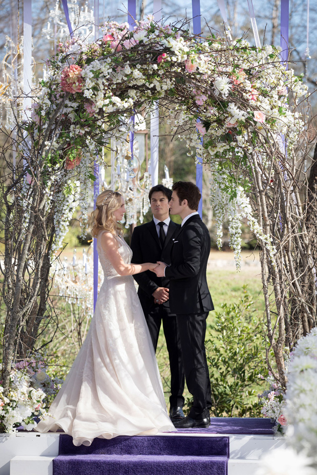 The Vampire Diaries casamento