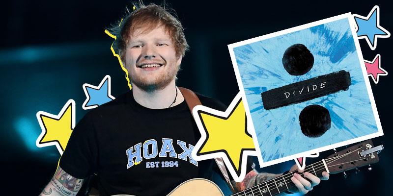 Ed Sheeran e seu álbum, Divide