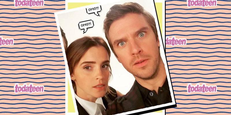 Emma Watson e Dan Stevens