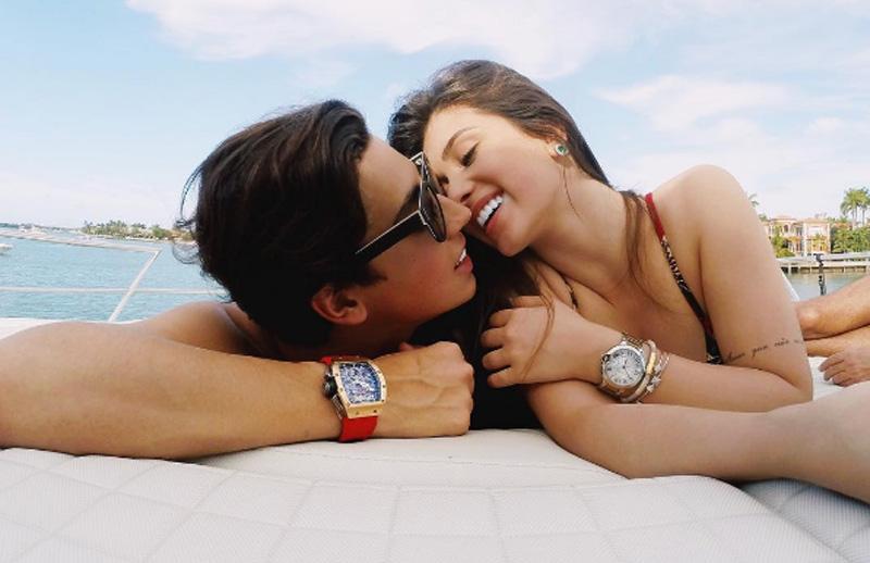 Flávia Pavanelli e Adibe terminam o namoro