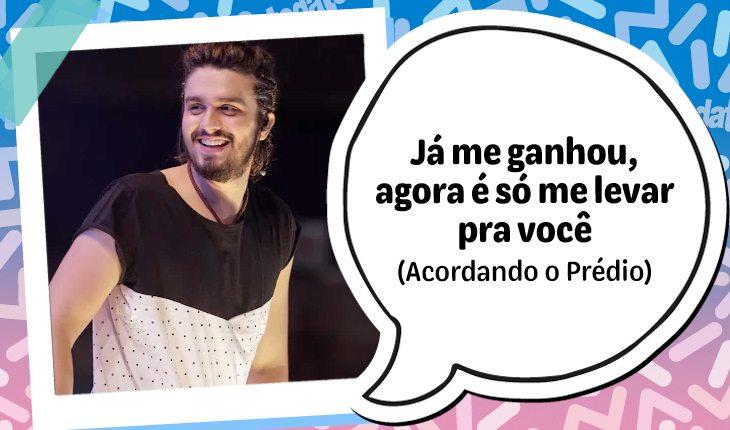 10 frases do Luan Santana para mandar para o crush!