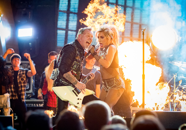 Metallica e Lady Gaga