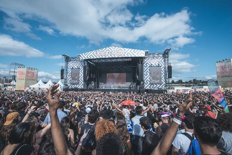 Palco do Lollapalooza 2017