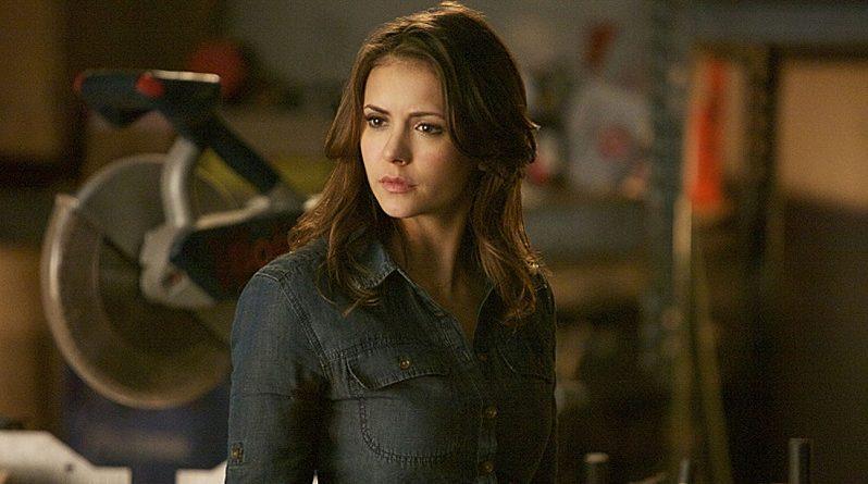 Nina Dobrev em The Vampire Diaries