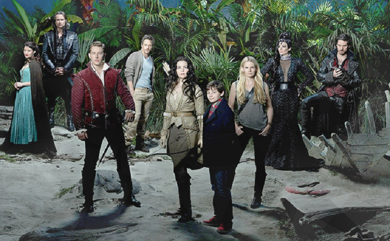Imagem com os atores de Once Upon a Time