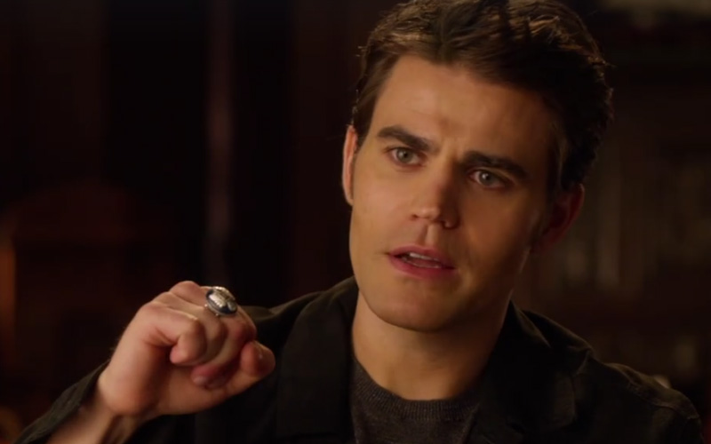 Paul Wesley e o anel de The Vampire Diaries
