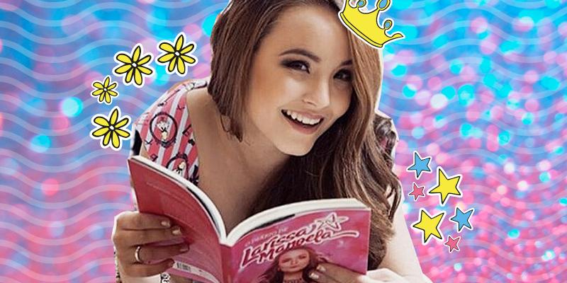 e1673b66069ff Larissa Manoela é reconhecida na revista Fobes por seu livro!