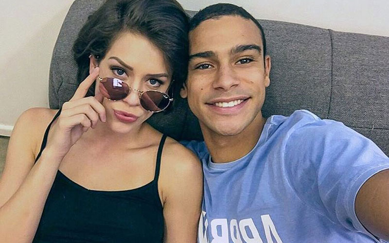 Sophia Abrahão e Sergio Malheiros