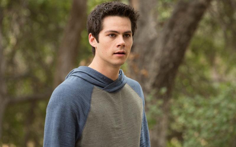 Dylan O'Brien como Stiles, em Teen Wolf
