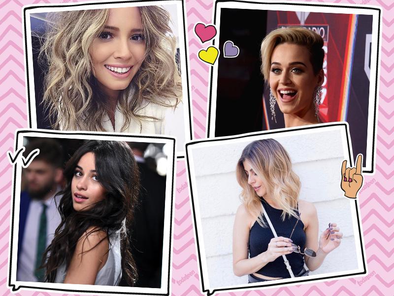 Corte de cabelo da Taciele Alcolea, Katy Perry, Camila Cabello e Nah Cardoso