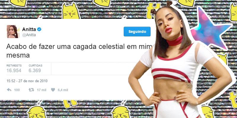 Tweet meme da Anitta