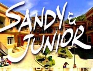 Logo da série Sandy & Júnior