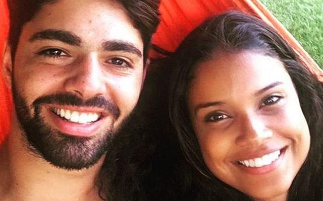 Aline Dias e Raffael Cupello