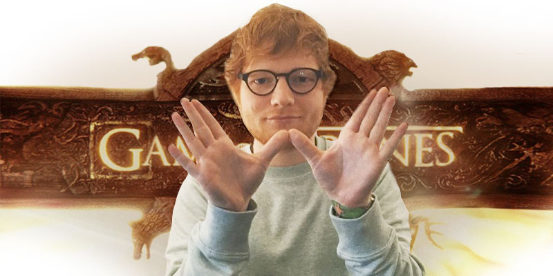 Ed Sheeran participará de Game Of Thrones