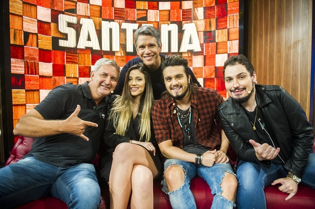 Luan Santana e Família