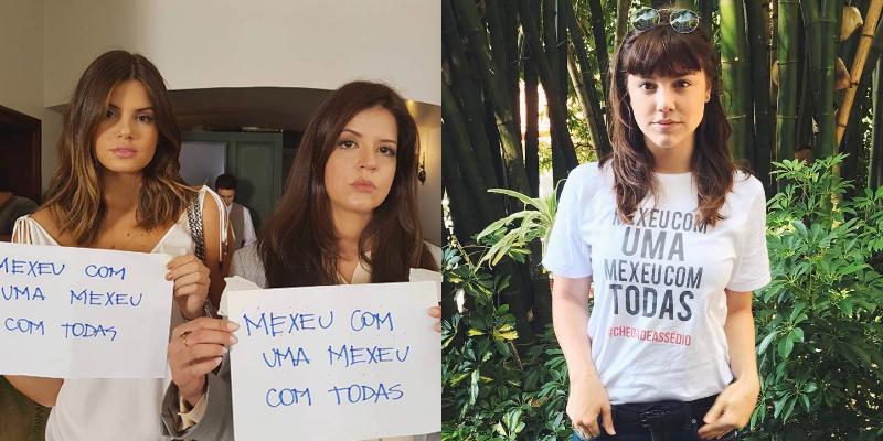 funcionárias Globo protestam assédio
