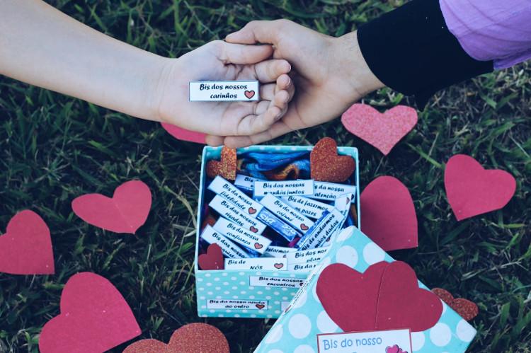 Presentes criativos para agradar seu amor no Dia dos Namorados