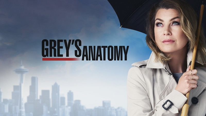 uma imagem de divulgação de Grey's Anatomy