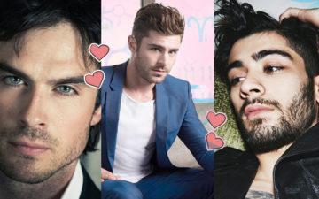 o beijo do boy de cada signo - famosos