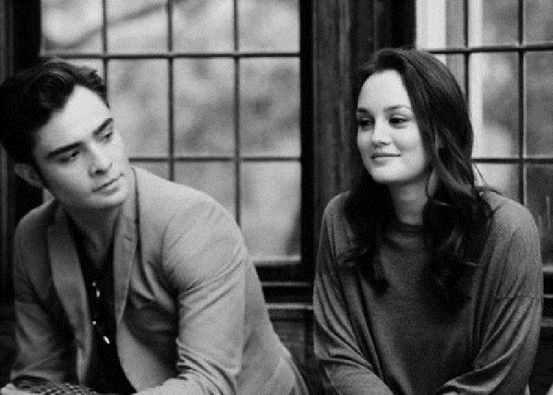 Blair e Chuck Bass de gossip girl juntos