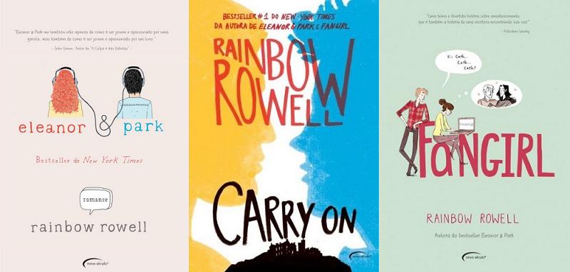As lições que aprendemos com os livros de Rainbow Rowell