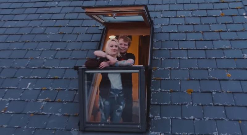 Ed Sheeran em Galway Girl