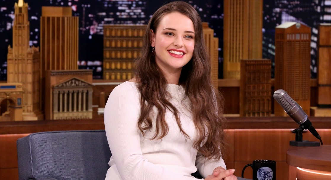Katherine Langford no Jimmy Fallon