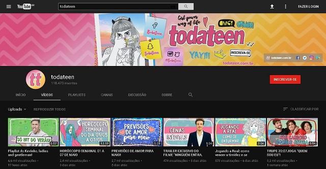 Estamos amando o novo layout dark do Youtube!