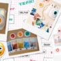 Lentes coloridas para Instax