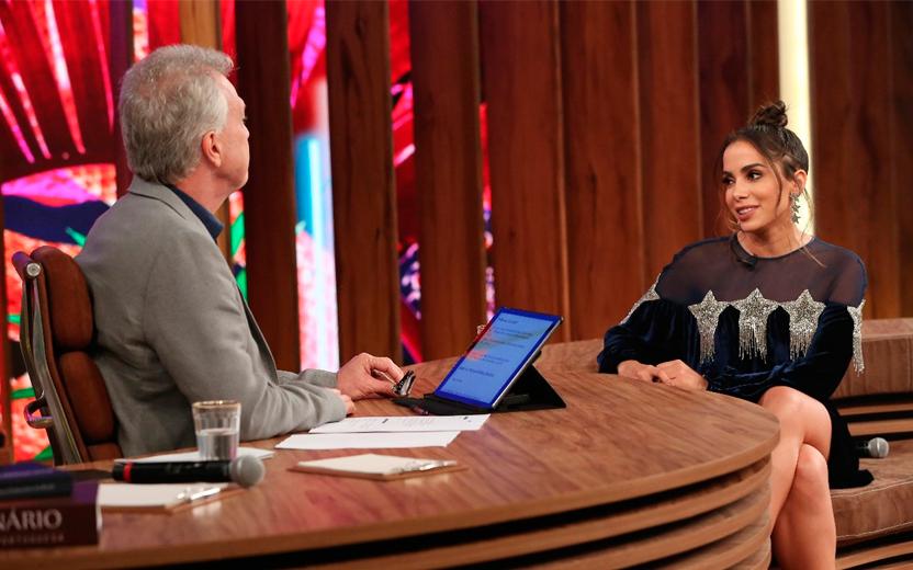 Anitta participa do 'Conversa com Bial' e fala sobre carreira internacional