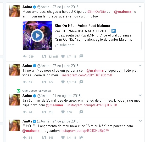 Anitta e Maluma
