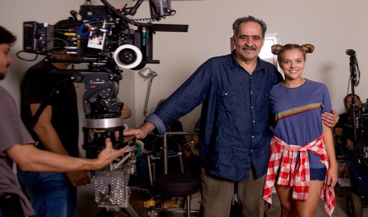 Gabi Lopes com dirtor do filme Amor Sem Fronteiras