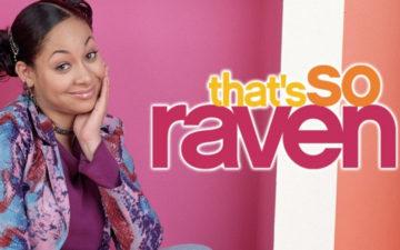 "Raven e frase""that's so haven"" ao lado em raven's home"