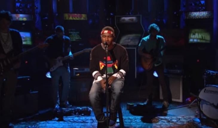 músicas: Frank Ocean cantando ao vivo