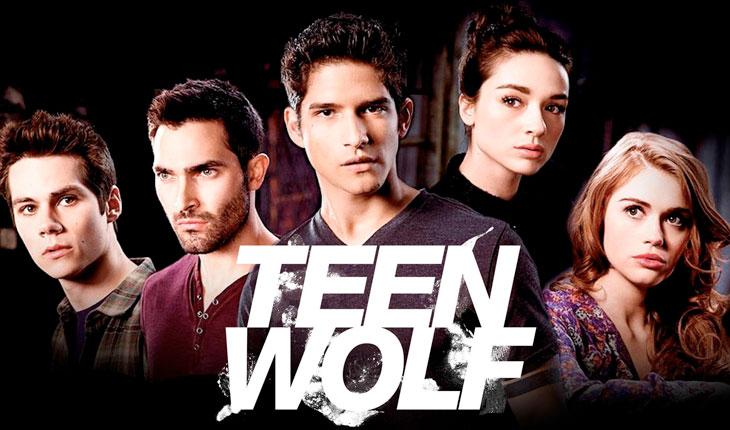 personagens de teen wolf em fundo preto